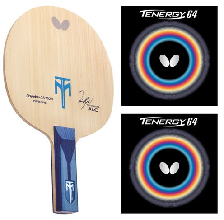 Butterfly Boll ALC + Tenergy 64