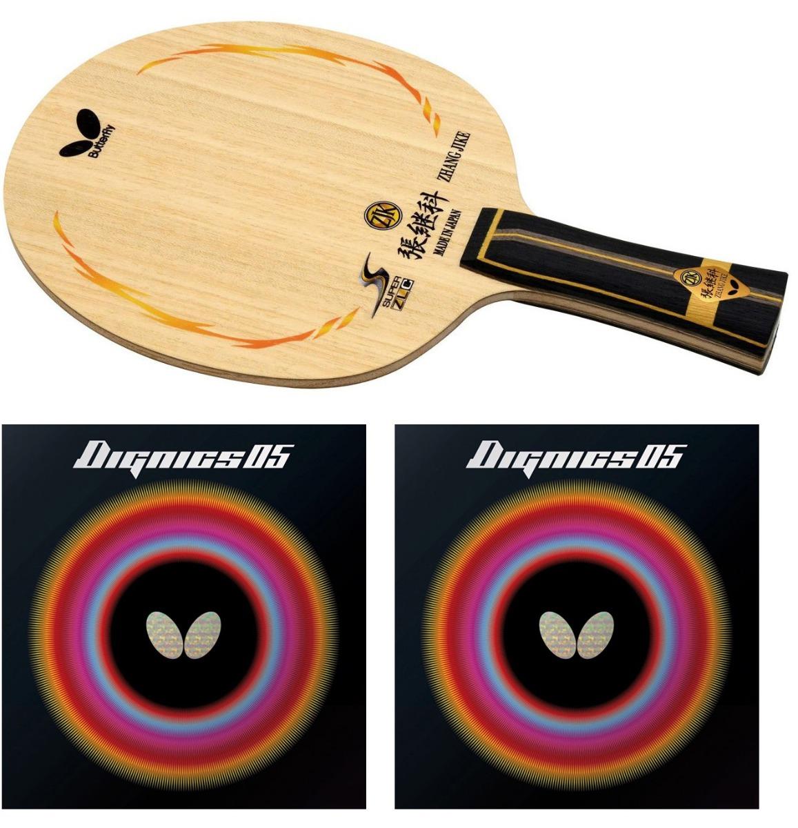 Butterfly Zhang Jike Super ZLC + Dignics 05